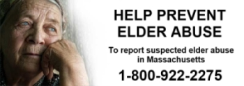 Report Elder Abuse 1-800-922-2275