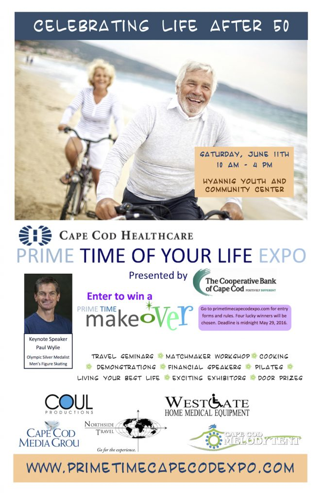 Cape Cod Healthcare Prime Time of Your Life Expo